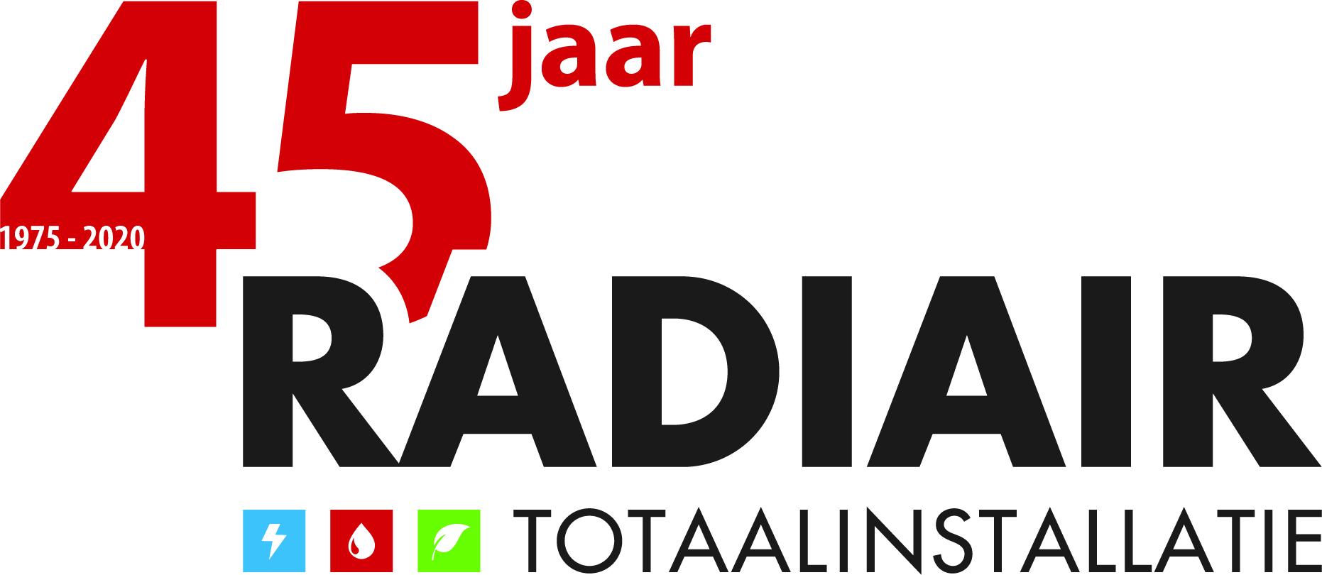 Radiair Totaalinstallatie bestaat 45 jaar!